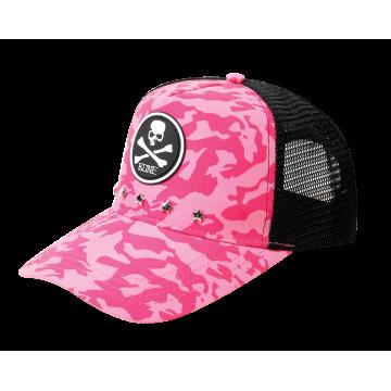 Apparel Bone CPPNK Mesh Cap Pink Camo