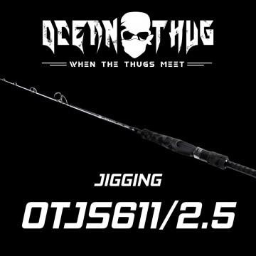 Rod Bone OTJS61125 OceanThug JigSpin PE1.0-2.5