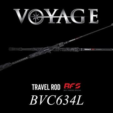 Rod Bone BVC634L Cast Travel 4pc MdFast 6ft3in PE0.3-1