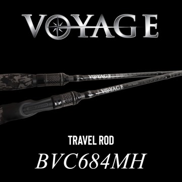 Rod Bone BVC684MH Cast Travel 4pc 6ft8inch PE1-2