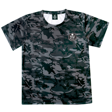 Apparel Bone CSS Round Tee Short Grey Camo
