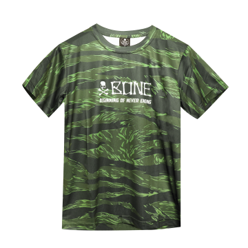 Apparel Bone DFTCGS DriFit Round Tee Short Green
