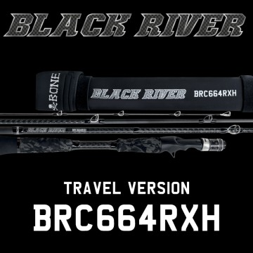 Rod Bone BRC664RXH Cast Travel 4pc 6ft6inch PE1-4