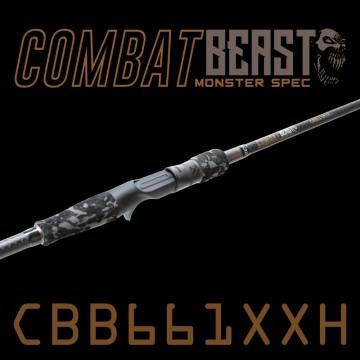 Rod Bone CBB661XXH Fast Baitcast 1pc 6ft6inch PE2-4
