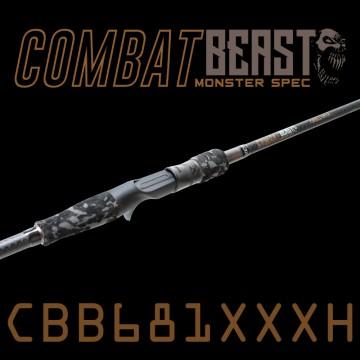 Rod Bone CBB681XXXH Fast Baitcast 1pc 6ft8inch PE3-6