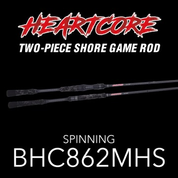 Rod Bone BHC862MHS Spin 2pc 8ft6inch PE1.0-2.5