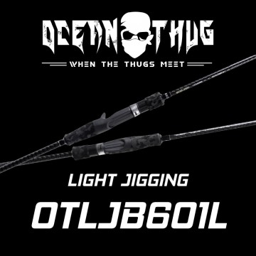 Rod Bone OTLJB601L OceanThug LightJig Cast PE0.8-2.0