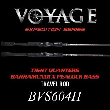 Rod Bone BEC604H Cast Travel 4pc 6ft0inch PE1-2.5