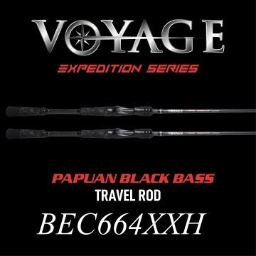 Rod Bone BEC664XXH Cast Travel 4pc 6ft6inch PE2-4