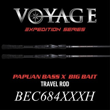 Rod Bone BEC684XXXH Cast Travel 4pc 6ft8inch PE3-6