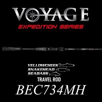 Rod Bone BEC734MH Cast Travel 4pc 7ft3inch PE1-2