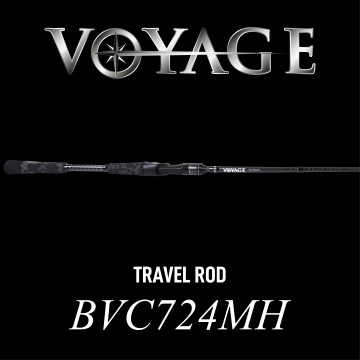 Rod Bone BVC724MH Cast Travel 4pc 7ft2inch PE1-2.5