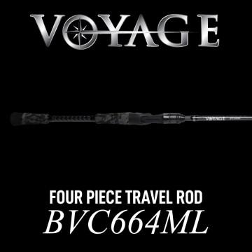 Rod Bone BVC664ML Cast Travel 4pc 6ft6inch PE0.4-1.2